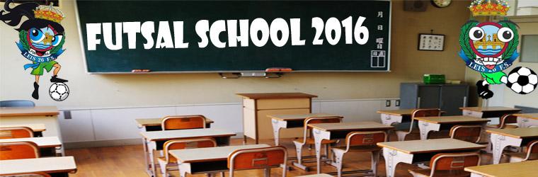 FUTSAL SCHOOL 2016