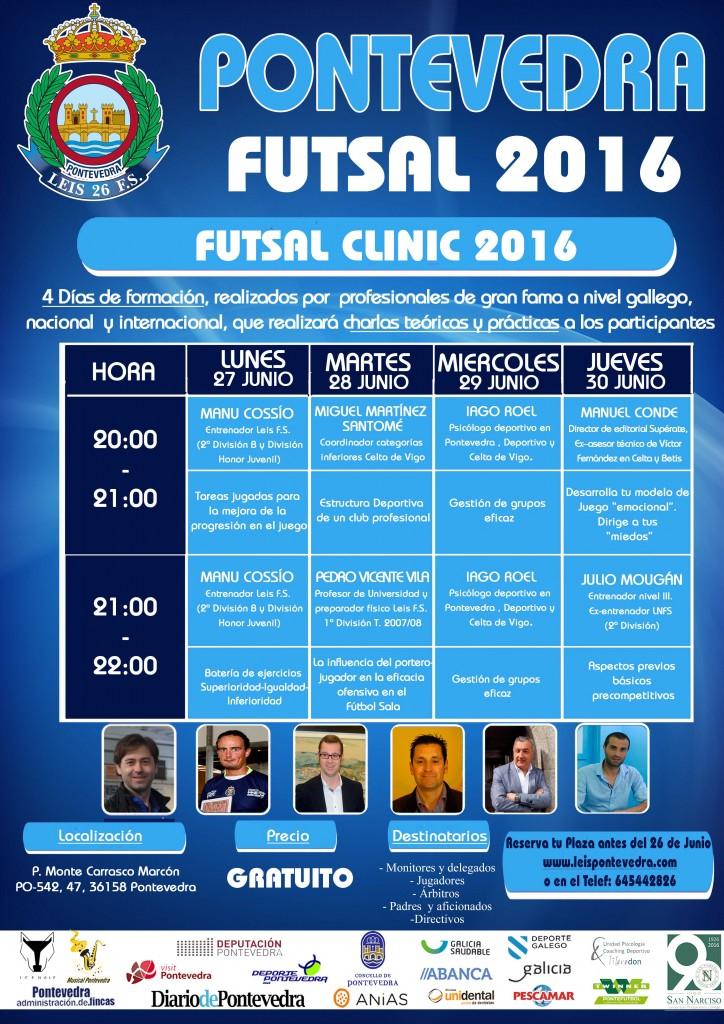 CARTEL FUTSAL CLINIC 2016