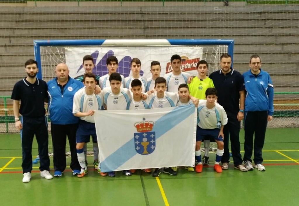 Selección gallega Cadete